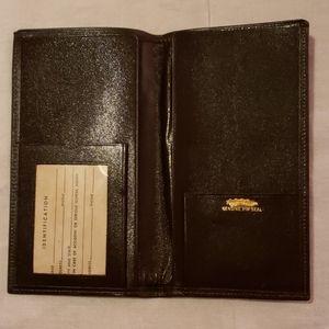 Vintage Unused Prince Gardner Passport Wallet